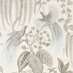 Sanderson Bird Of Paradise Linen 216652