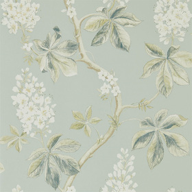 Sanderson Chestnut Tree Grey-Blue-Sage 215708
