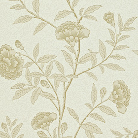 Sanderson Chinese Peony Linen DRCH212133