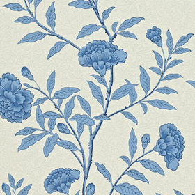 Sanderson Chinese Peony Blue DRCH212136