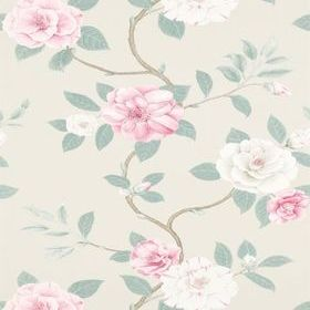 Sanderson Christabel Rose-Pewter DVOY213376