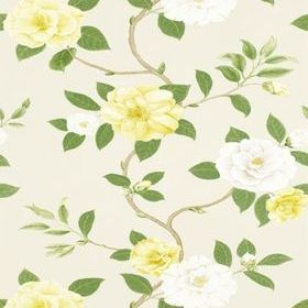Sanderson Christabel Yellow-Ivory DVOY213377