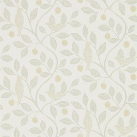 Sanderson Damson Tree Linen-Honey 216366