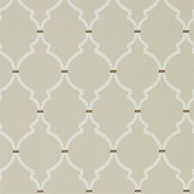 Sanderson Empire Trellis Linen-Cream 216337