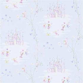 Sanderson Fairy Castle Blue 214045