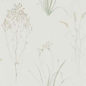 Sanderson Farne Grasses Willow-Pebble 216488