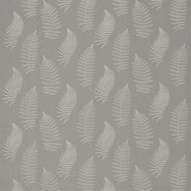 Sanderson Fern Embroidery Pebble DWOW235610
