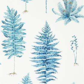 Sanderson Fernery China Blue 216635