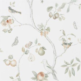 Sanderson Fruit Aviary Ivory-Mineral 216313