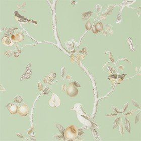 Sanderson Fruit Aviary Sage-Neutral 216311