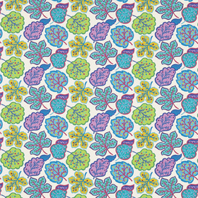 Sanderson Jewel Leaves Fig-Teal DPAV224624