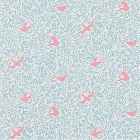 Sanderson Larksong Powder Blue-Pink 214763