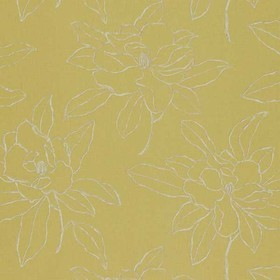 Sanderson Magnolia Embroidery Linden Green DPFWMA101