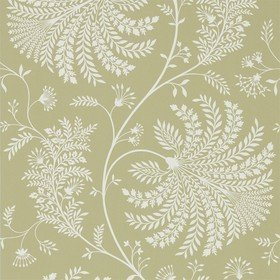 Sanderson Mapperton Garden Green-Cream 216340