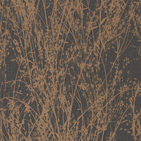 Sanderson Meadow Canvas Bronze-Charcoal 215696