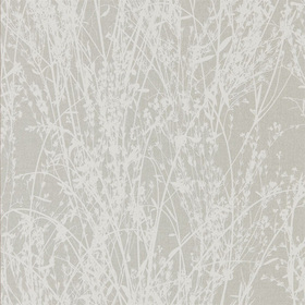 Sanderson Meadow Canvas White-Grey 215694