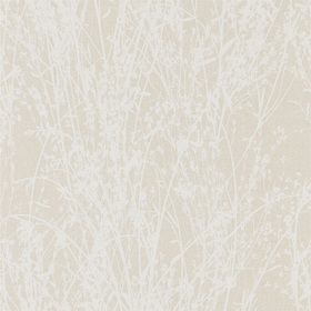 Sanderson Meadow Canvas White-Parchment 215695