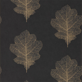Sanderson Oak Filigree Charcoal-Bronze 215700