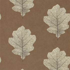 Sanderson Oak Filigree Copper-Graphite 215701