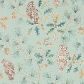 Sanderson Owlswick Whitstabe Blue 216596