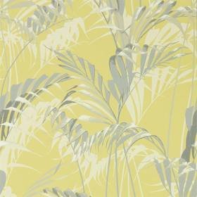 Sanderson Palm House Chartreuse-Grey 216642