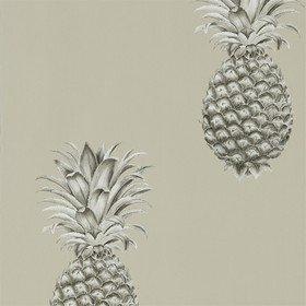 Sanderson Pineapple Royale Charcoal-Champagne 216323