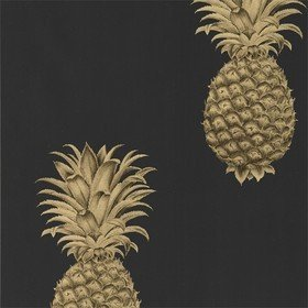 Sanderson Pineapple Royale Graphite-Gold 216326