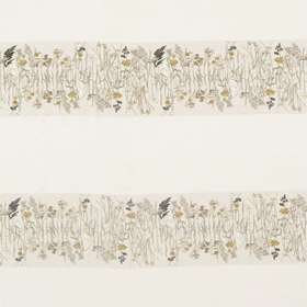 Sanderson Pressed Flowers Sable-Corn 236555