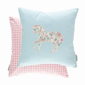 Sanderson Pretty Ponies Chintz Blue 254805