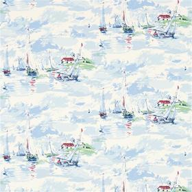 Sanderson Sail Away Sky Blue 214590