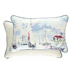 Sanderson Sail Away Sky Blue 254786