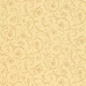 Sanderson Scroll Co-ordinate Taupe-Chocolate DEGTSC105