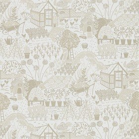 Sanderson The Allotment Linen 216353