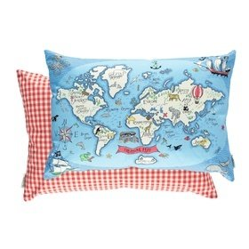 Sanderson Treasure Map Sea Blue 254808