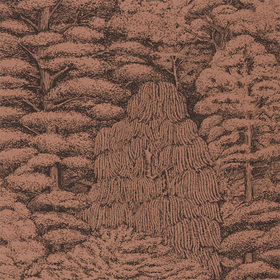 Sanderson Woodland Toile Copper-Charcoal 215719