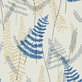 Scion Athyrium Chalk-Denim-Biscuit 110213