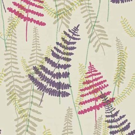 Scion Athyrium Plum-Fuchsia-Linen-Lime 110214