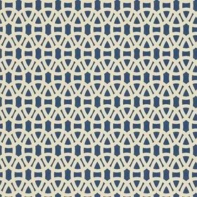 Scion Lace Indigo-Linen 110229
