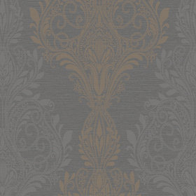SketchTwenty3 Sloane Damask Black-Brown SL00807