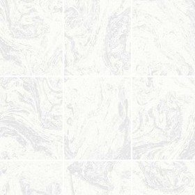 Superfresco Glitter Marble Tile White 104881