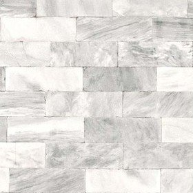 Superfresco Herringbone Marble Tile White 104883