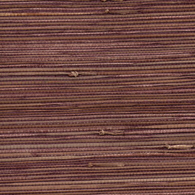 Natural Furniture Company Ltd Aubergine Natural Grasscloth