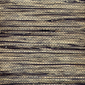 Natural Furniture Company Ltd Dark Symmetry Seagrass Natural Grasscloth