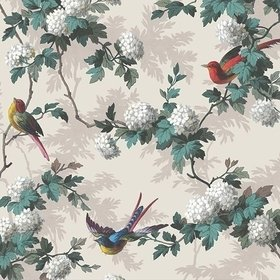 The Vintage Collection Bird Print Neutral HWP-12010-6