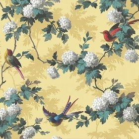 The Vintage Collection Bird Print Yellow HWP-12010-5
