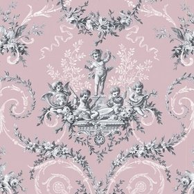 The Vintage Collection Cherub Toile Pink HWP-12011-2