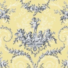 The Vintage Collection Cherub Toile Yellow HWP-12011-5