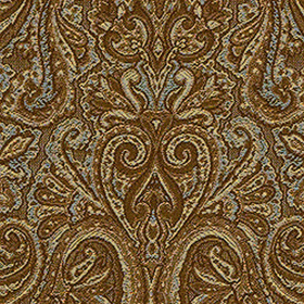 Thibaut Albion Paisley Brown and Aqua W78051