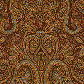 Thibaut Albion Paisley Red Spice W78052