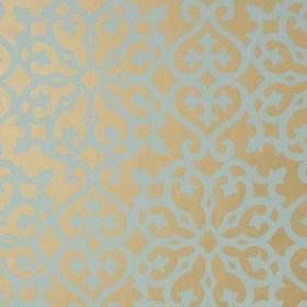 Thibaut Allison Aqua on Metallic Gold T35176